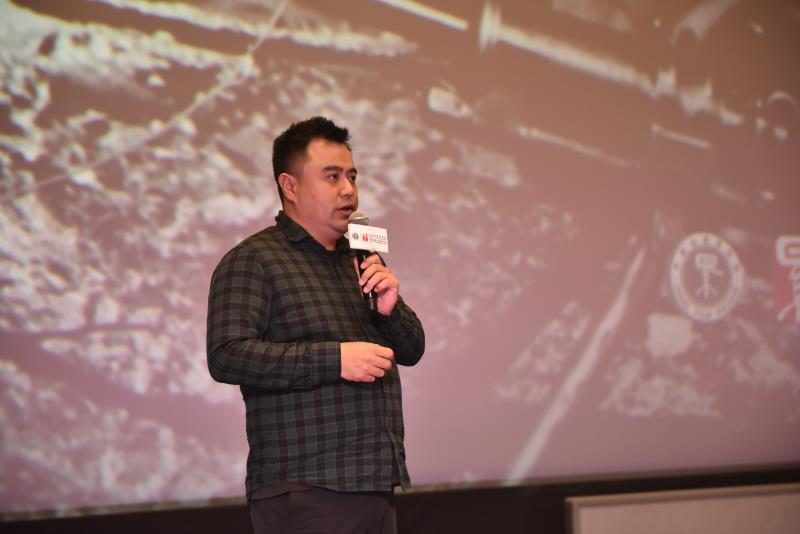 中國電影資料館修復工程師 王崢