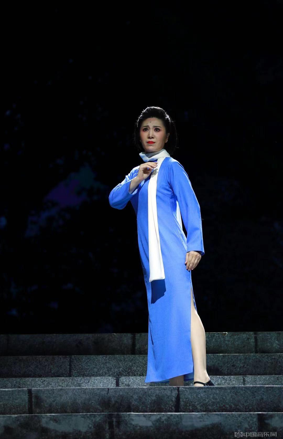 """歌剧《江姐》焕新登场歌唱家伊泓远饰演""""江姐""""一角广受好评"""