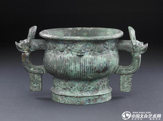 西周早期的康侯簋,是最著名的周初青铜器之一。