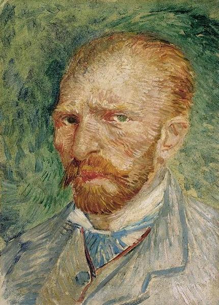 梵高 Van Gogh Vincent - 自画像