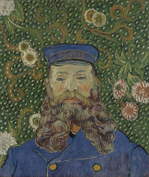 梵高 - Portrait of Joseph Roulin