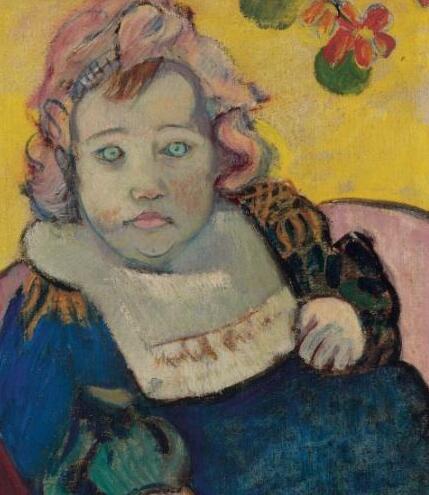 高更 Gauguin - The Child