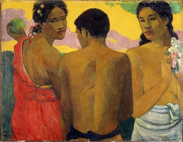高更 Gauguin - 大溪地的三人