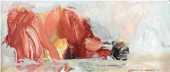 林印吉 作品 油画