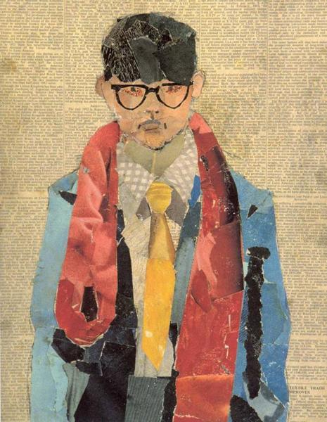 1954年大卫·霍克尼自画像