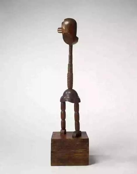 《法国小女孩》,康斯坦丁·布朗库斯,1914-1918年