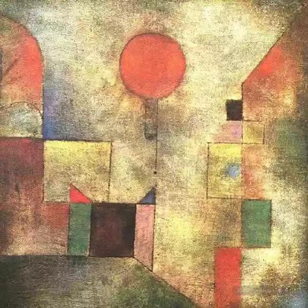 《红气球》,保罗·克利 ,1922年
