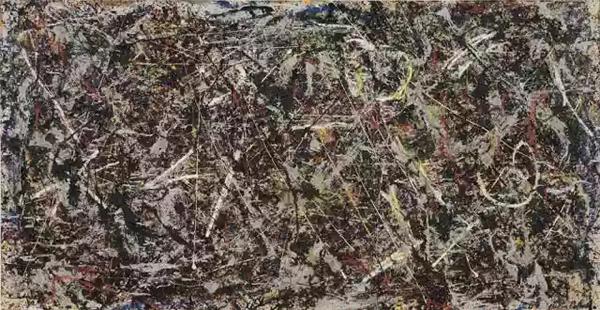 《炼金术》,波洛克,1947年
