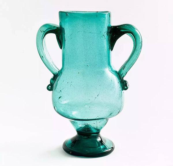 安达卢西亚玻璃花瓶,20世纪初
