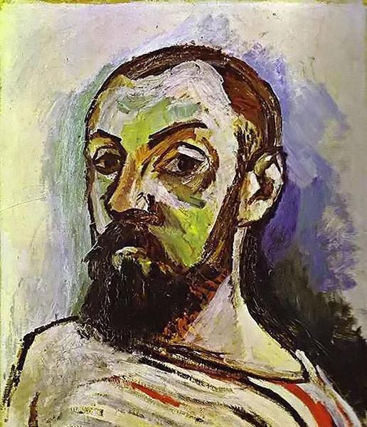 马蒂斯,《自画像》,1906年