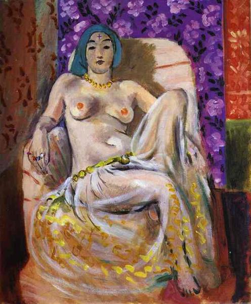 马蒂斯,《坐着的后宫佳丽》,1931年