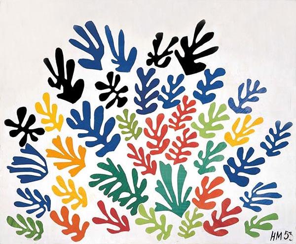 马蒂斯,《花束》,1953年