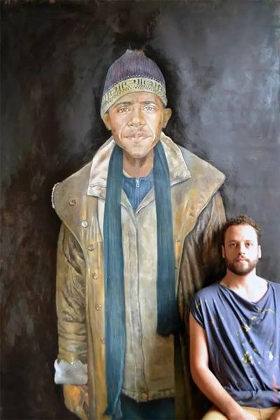 叙利亚艺术家阿卜杜拉·奥马利(Abdalla Al Omari)