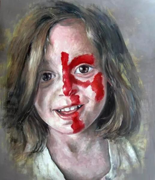 叙利亚艺术家阿卜杜拉·奥马利油画作品