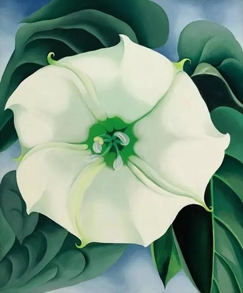 《白色花朵,一号》,1932