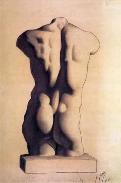 毕加索12岁作品